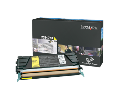 C534 7K yellow toner cartridge