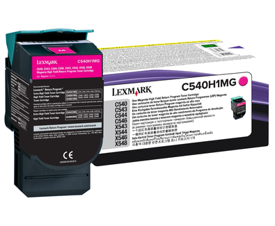 Magenta HY Return Program Cartridge