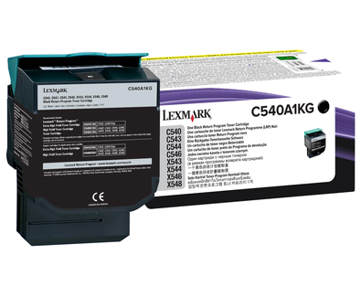 C54x,X54x Black Return Program Cartridge