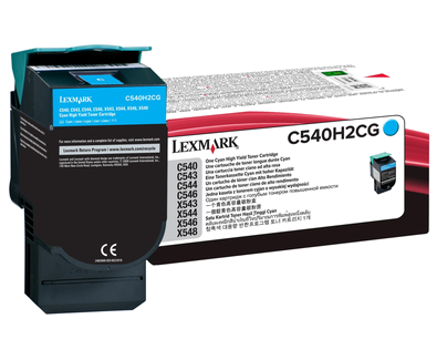 C54x, X54x Cyan HY Toner Cartridge