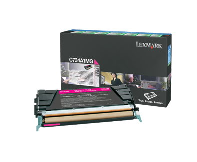 C73x Magenta Return Program Cartridge