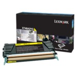 X74x Yellow Toner Cartridge