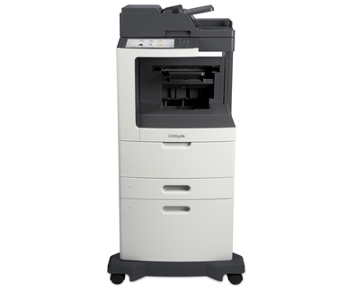 Lexmark MX810dxe w/ Staple Punch Fin.