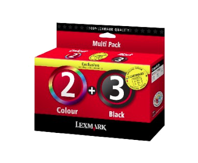 Combo pack 2/3 Inkjet Cartridges