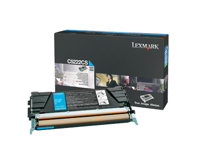 C52x, C53x Cyan Toner Cartridge