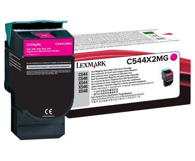 C544, X544 Magenta EHY Toner Cartridge