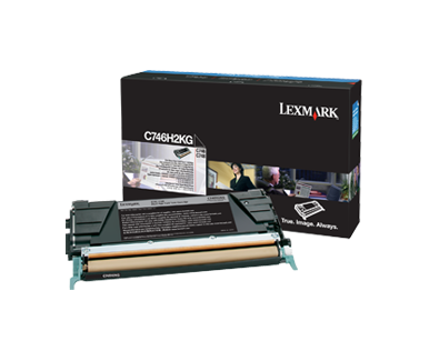 C74x Black HY Toner Cartridge