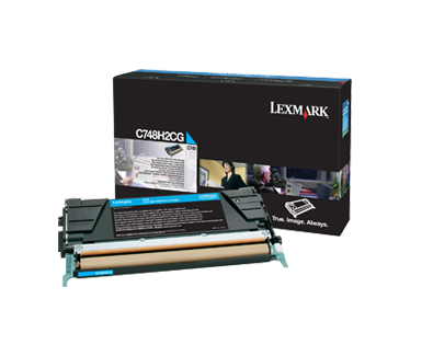 C748 Cyan High Yield Toner Cartridge