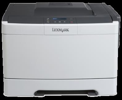 Цветной лазерный принтер Lexmark CS317dn