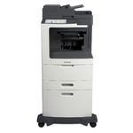 Lexmark MX810dxe w/ Offset Stacker
