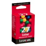 N°27 moderate use colour print cartr.