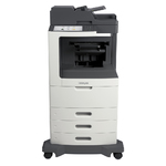 Lexmark MX812dte w/ Stapler Finisher