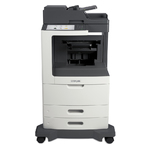 Lexmark MX812de w/ Offset Stacker