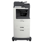 Lexmark MX810dxe w/ Staple Finisher