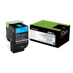 808C Cyan Return Program Toner Cartridge
