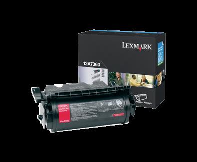 T630, T632, T634 Print Cartridge
