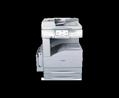 Lexmark X850e VE3 laser MFP