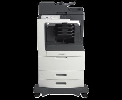 Lexmark MX812de w/ Mailbox