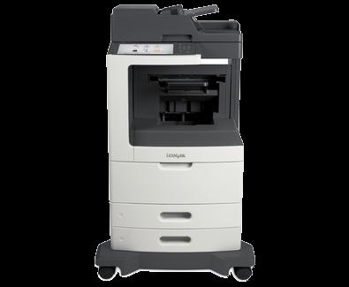 Lexmark MX810de w/ Offset Stacker