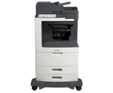 Lexmark MX811de w/ Offset Stacker