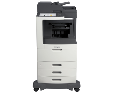 Lexmark MX812dte w/ Offset Stacker