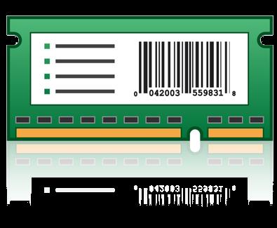 X746/X748 Forms en Barcode kaart