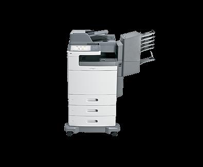 Lexmark X792dtme Colour Laser MFP