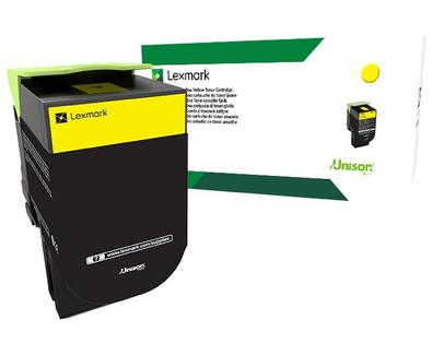 802SY Yellow SY Return Program Cartridge
