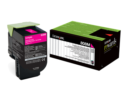 808M Magenta Return Program Cartridge