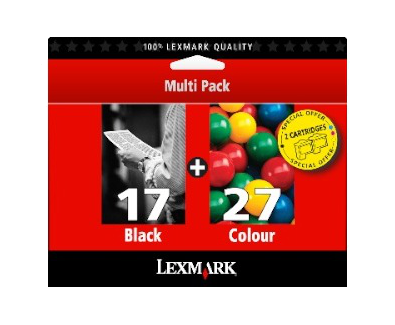 Twin Pack #17 Black Print Cartridges