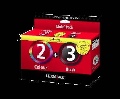 Combo pack 2/3 Inkjet Cartridges