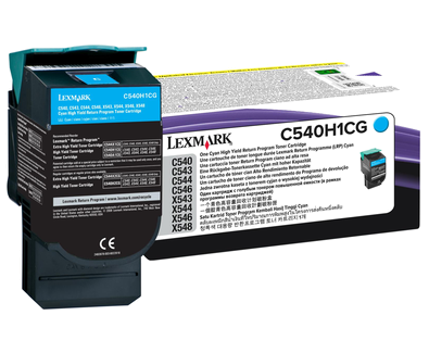 Cyan HY Return Program Cartridge