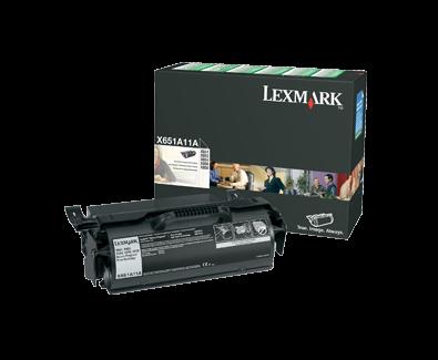 X65x Return Program Print Cartridge