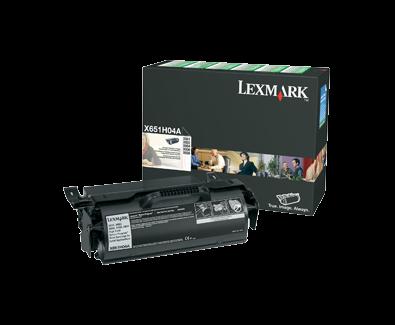 X65x HY Return Program Cartridge Labels