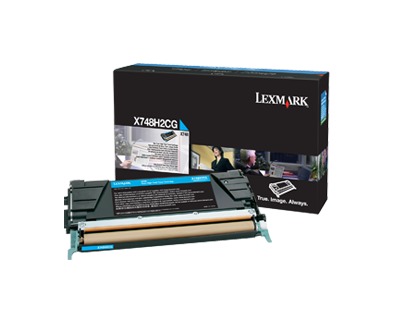X748 Cyan High Yield Toner Cartridge