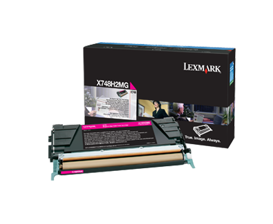 X748 Magenta High Yield Toner Cartridge