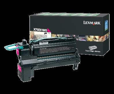 X792 20K magenta retourprogr printcartr