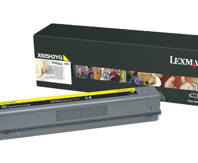 X925 keltainen riittovärikasetti