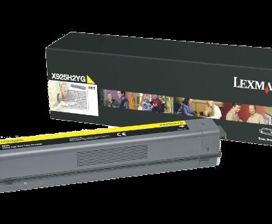 X925 Yellow HY Toner Cartridge
